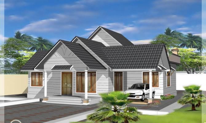 Single Storey Like Double Floor Home Design Kerala