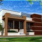 Single Storied Contemporary House Kerala Home Design Floor Plans