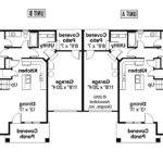 Single Story Duplex Floor Plans Android Iphone