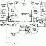 Single Story Luxury House Plans Level