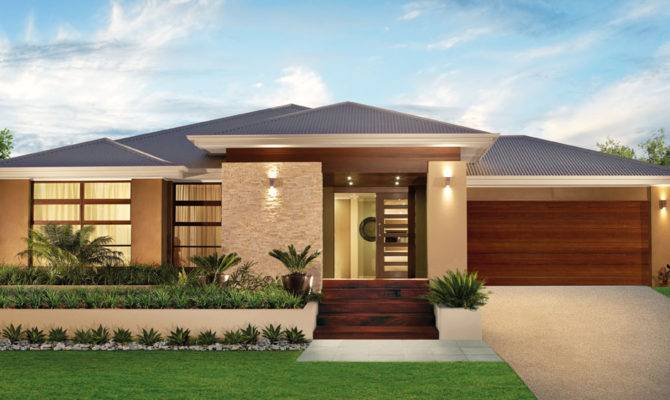 Single Story Modern House Designs Listed Our Simple