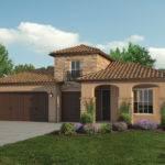 Single Story Tuscan Style Homes Plan
