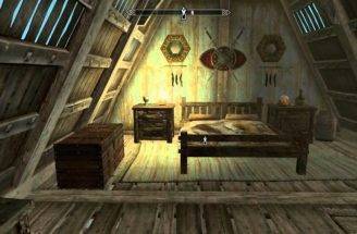 Skyrim Adding Bedroom House Before After Youtube