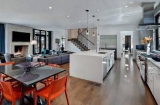 Sleek Urban Open Floor Plan Source Stocker Hoesterey