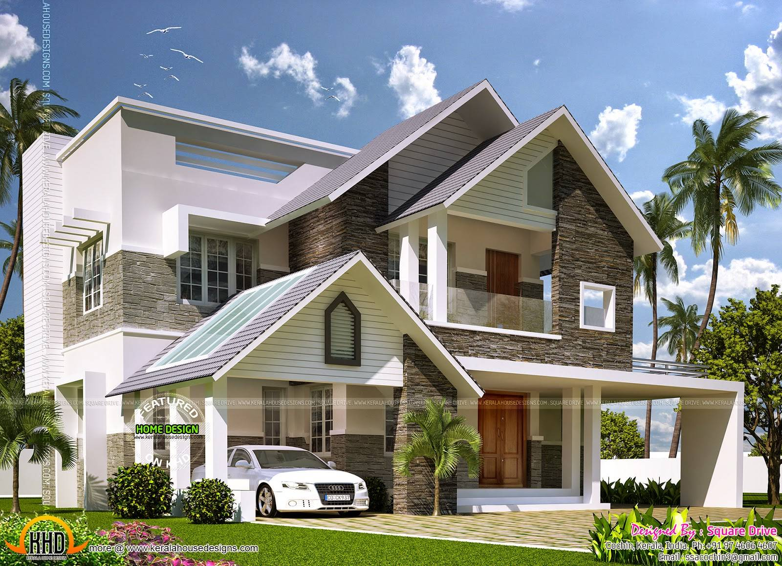 342f4a1483053c1d also 9 Sweet Stone Cottages For Hermit Wannabes moreover Modern Courtyard House Plan also Modern Bungalow House Design In Philippines besides Exterior Walls Paint Ideas Color Scheme Color  bination. on contemporary ranch type house