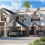 Sloping Roof Home Design
