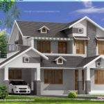 Sloping Roof House Design