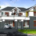 Sloping Roof Story Home Square Yards