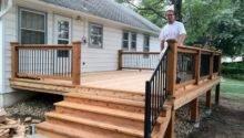 Small Back Deck Home Design Pinterest