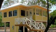 Small Beach Home Plans Narrow House Floor