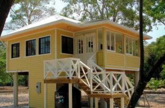 Small Beach Home Plans Narrow House Floor
