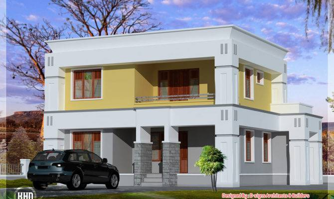 Small Box Type Home Design Architecture House Plans