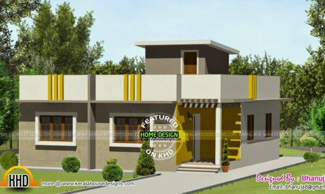 Small Budget House Plan Kerala Home Design Floor Plans