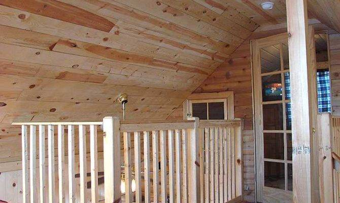 Small Cabin Plans Loft Porch Car Tuning