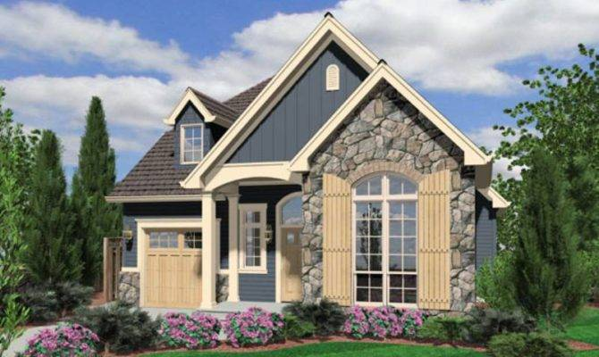 Small Cottage Style House Plans