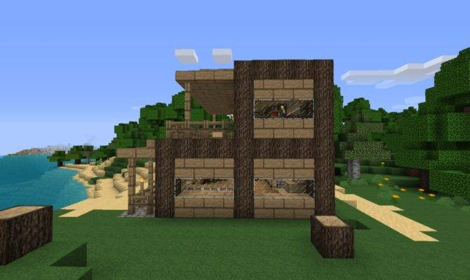 Small House Beach Minecraft Project