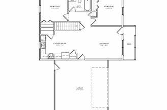 Small House Plan Bedroom Houseplan Cabin