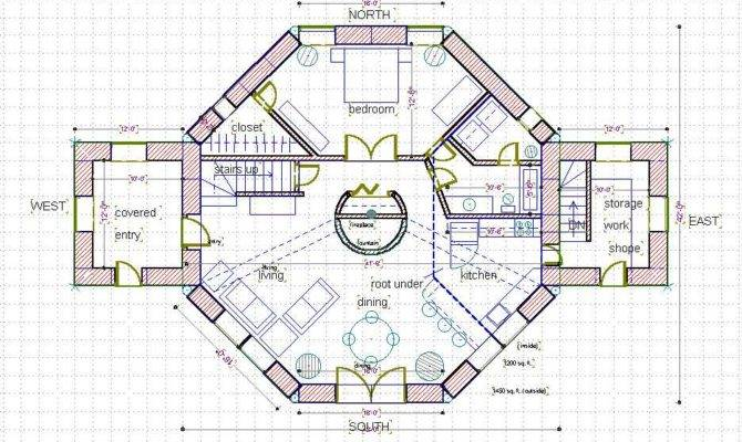 28+ [ octagon house plans joy studio ] | small octagon house plans