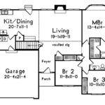 Small Single Story House Plans Car