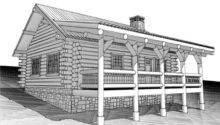 Small Two Bedroom Cottage Floor Plans Also Cabin