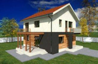 Small Two Story House Plans Balconies Joy Studio Design
