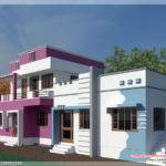South Indian Model Minimalist Box House Design Vastu Compatible Yes
