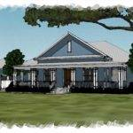 Southern Charm House Plan Wrap Around Porch Plans