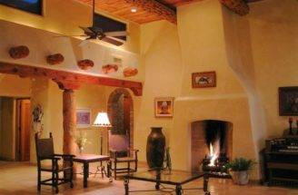 Southwest Style Pueblo Desert Adobe Home Pinterest
