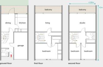 Southwood House Estate Floor Plan Story Bedroom