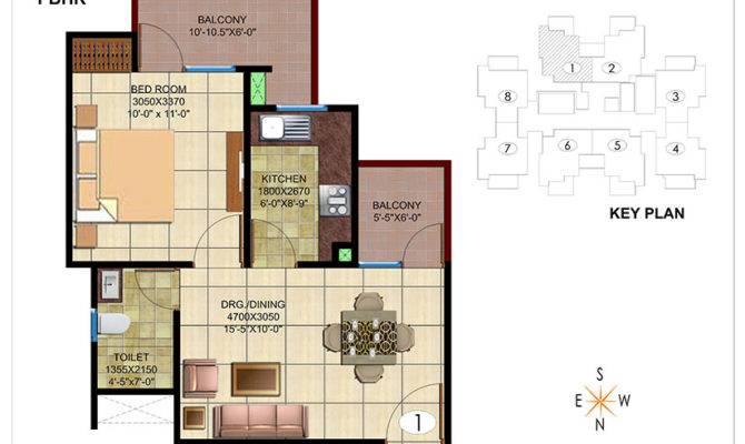 Space Grandeur Bhk Floor Plan Original