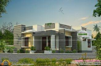 Space Saving Home Design Kerala Floor Plans