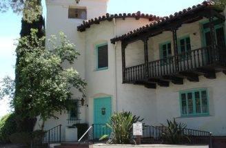 Spanish Colonial Revival Mission Style Pueblo
