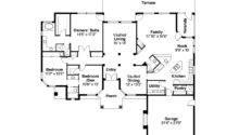 Spanish Style House Plan Richmond Floor