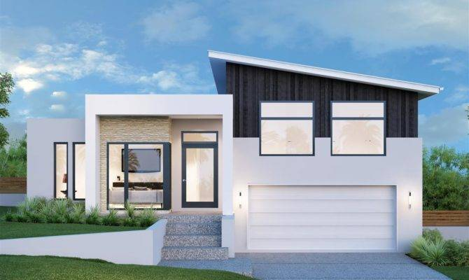 modern split level home design. beautiful ideas. Home Design Ideas