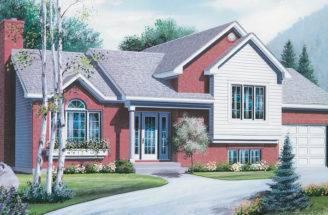 Split Level Ranch House Plans Builderhouseplans