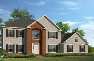 Springfield Two Story Style Modular Homes