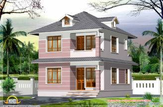 Square Feet Small Home Design Kerala Floor Plans