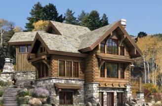 Stone Log House Plans Joy Studio Design Best