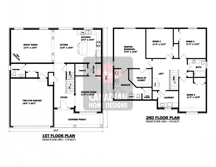 Beautiful 2 Story Plus Basement House Plan 4 Bedroom 25 Two Storey