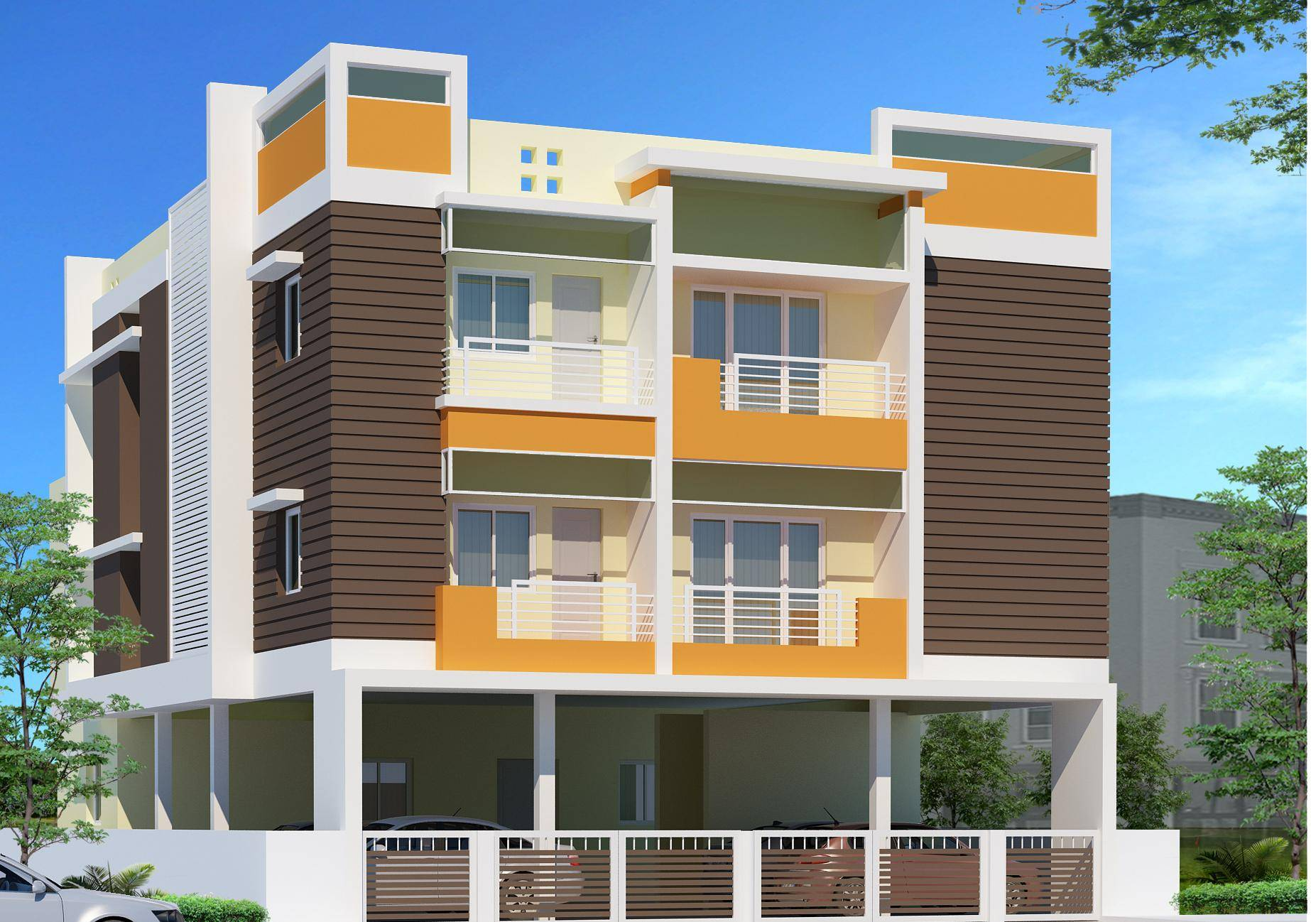 Storey Residential Building Design Top Home Building