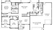 Story Bedroom House Floor Plans Five