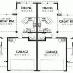 Story Duplex House Plans Eplans Epl