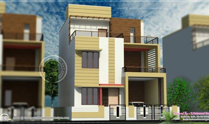 Story House Plan Design Feet Interior Decor Kerala
