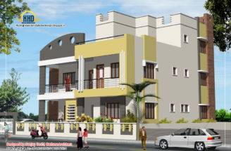 Story House Plan Elevation February