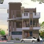 Story House Plan Elevation Indian Home Decor