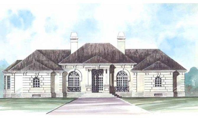 Story Mediterranean House Plans Eplans Plan