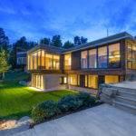 Strikingly Modern Building Designed Logg Arkitekter Villa