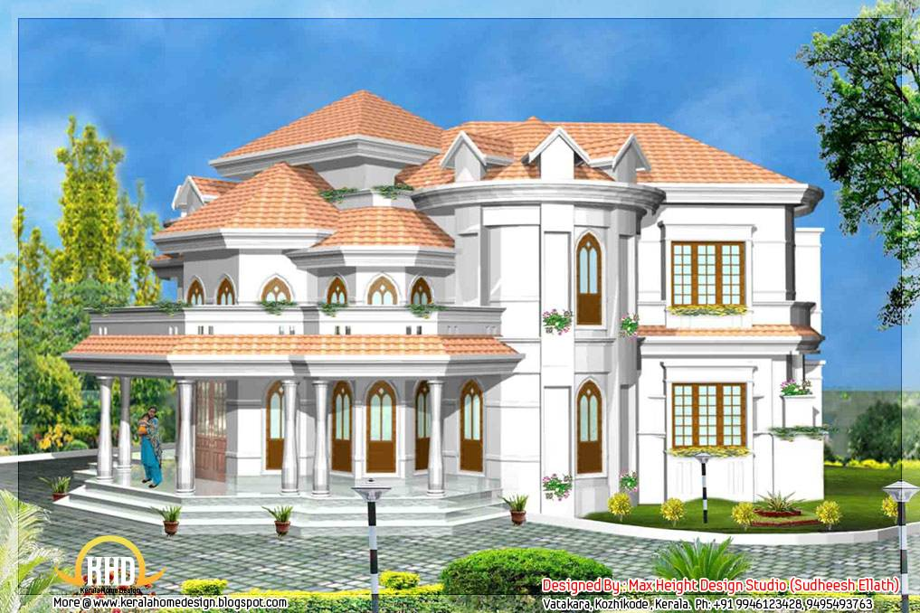 Style House Models Kerala Home Design Plans Home