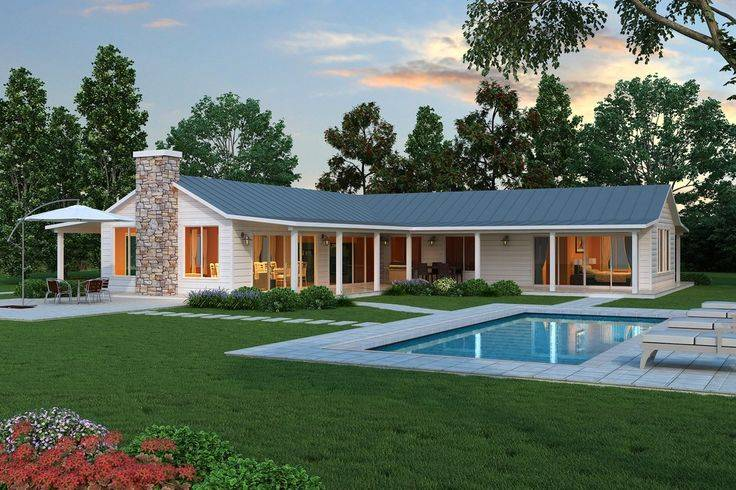 Contemporary Ranch House Plans