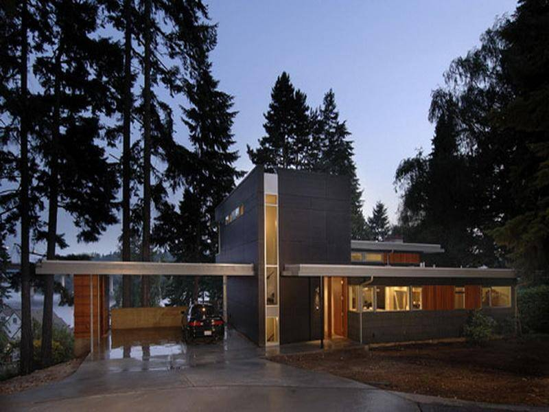 Modern Single Story House Plans Szolfhokcom